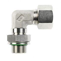 Adjustable male adaptor elbow fittings