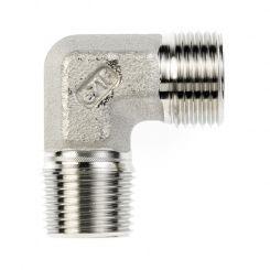 Male adaptor elbow connectors