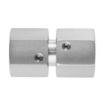 Gerade Zwischenstutzen mit Dichtkegel und O-Ring