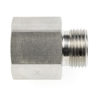 Straight female adaptor connectors