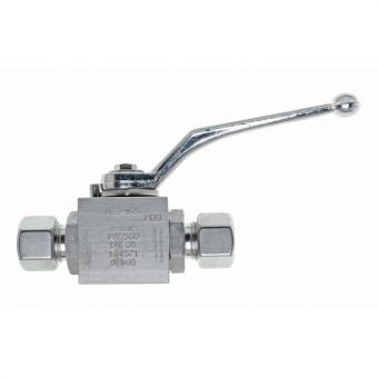 High pressure ball valves